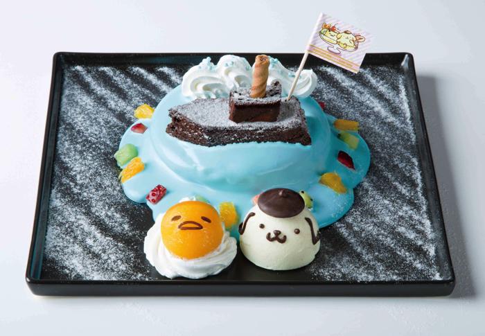 可愛雙倍!「布丁狗×蛋黃哥」合作咖啡廳於日本橫濱登場 咖啡廳、在橫濱店、布丁狗、蛋黃哥、
