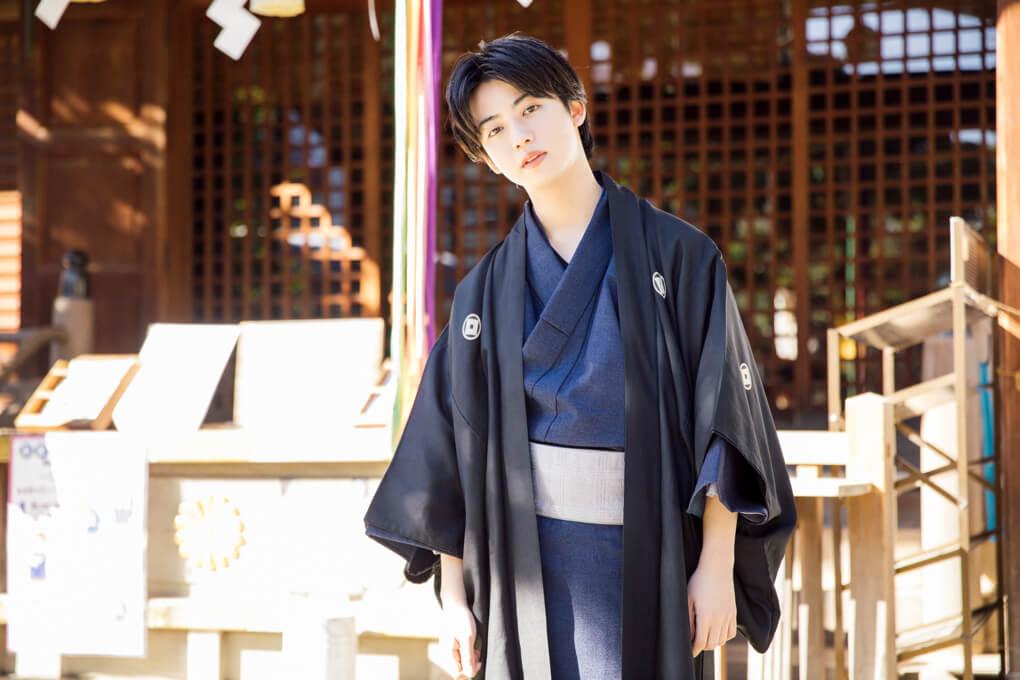 【東京散步】在東京爬上富士山!跟優太郎在「鳩森八幡神社」來場和服約會吧 優太郎、東京散步、