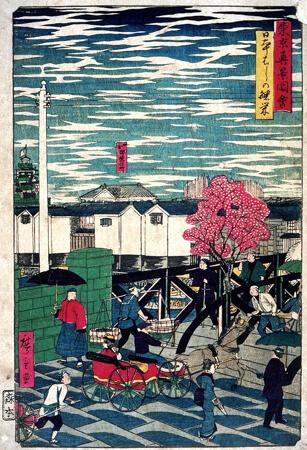 東京真景図絵_日本はしの繁栄