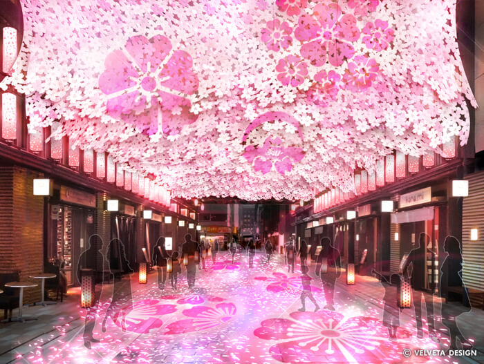 享受藝術般的賞櫻體驗 「日本橋 櫻花祭」今年也將熱鬧舉辦! 在日本橋、櫻、