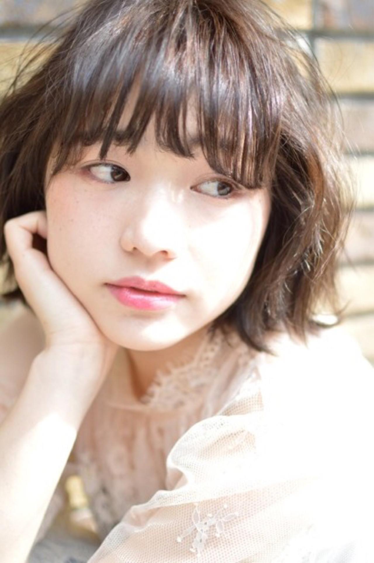 ボブヘアならもっと女性らしく? miyuki saito | lani hair