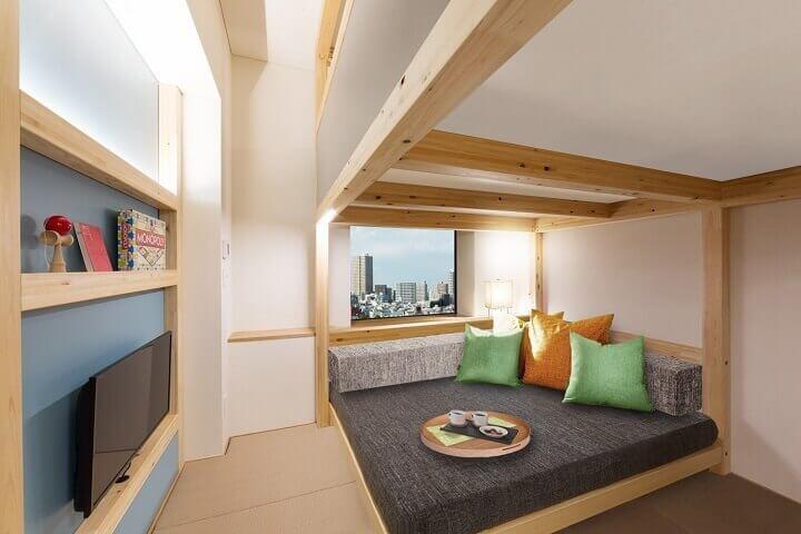 星野リゾート DANRAN Room