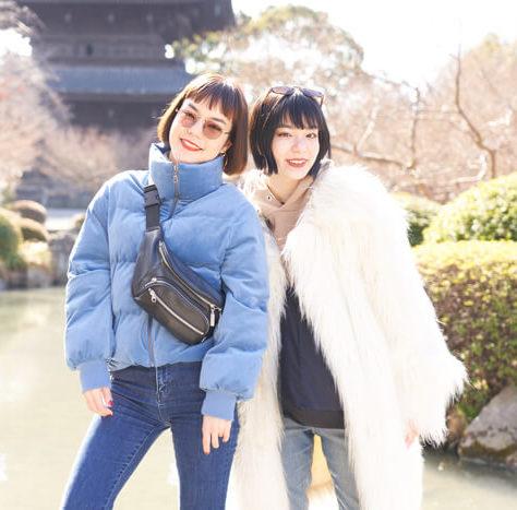 【京都散步】騎著腳踏車來一趟京都車站周遭的觀光景點巡禮「當日來回京都之旅」 京都散歩、在京都、東京散歩、長澤Mei、