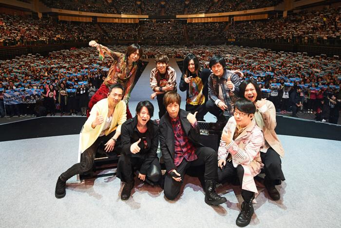 GLAY攻蛋 於台北小巨蛋舉辦演唱會「SPRINGDELICS」 五月天驚喜登場 GLAY、