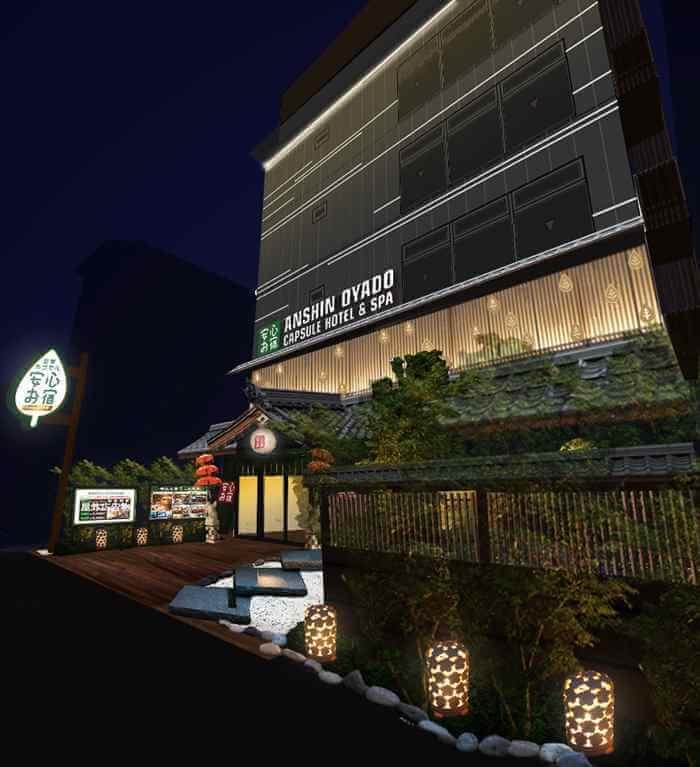 膠囊旅館「安心之宿」將於京都・烏丸開設關西首間分店!AI機器人禮賓部同步登場 住宿、在京都、