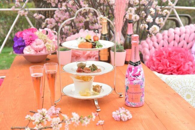 CHANDON Blossom Lounge 東京ミッドタウン