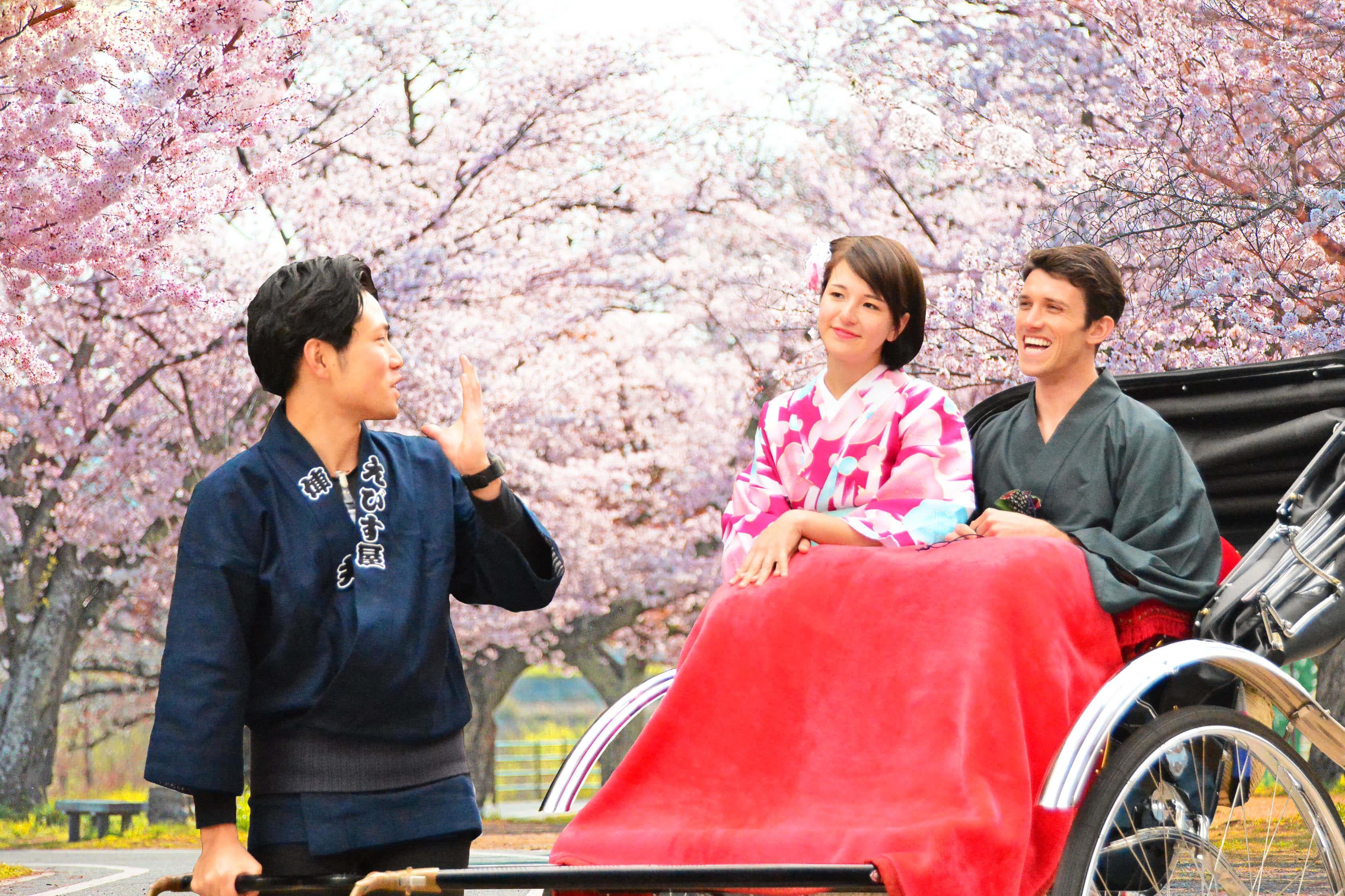 新大谷飯店推出搭乘「人力車」的輕鬆賞櫻方案 住宿、櫻、飯店、