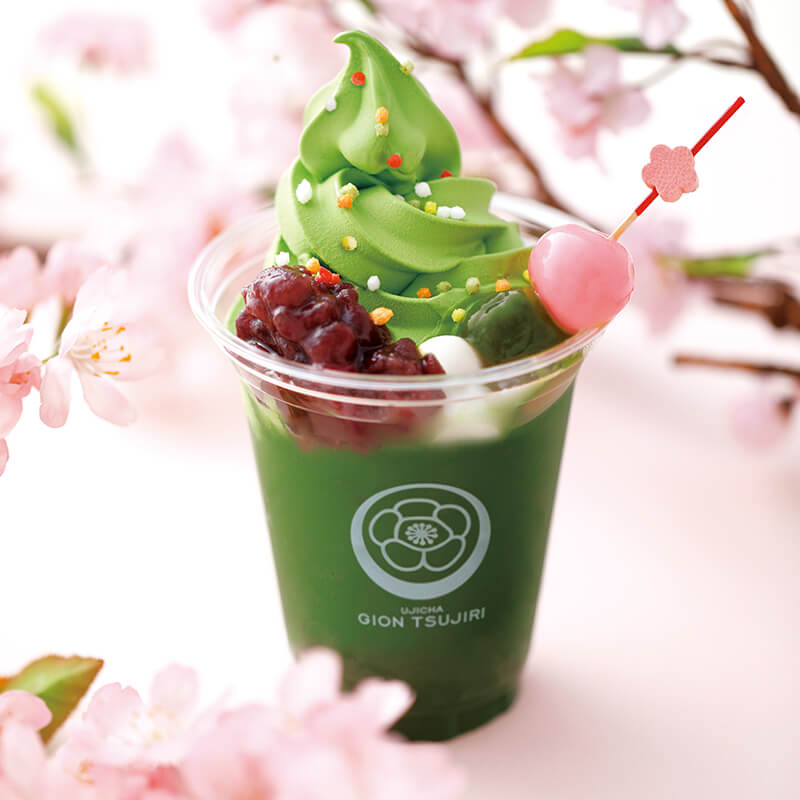 """Gion Tsujiri's"" spring-limited take out menu items"