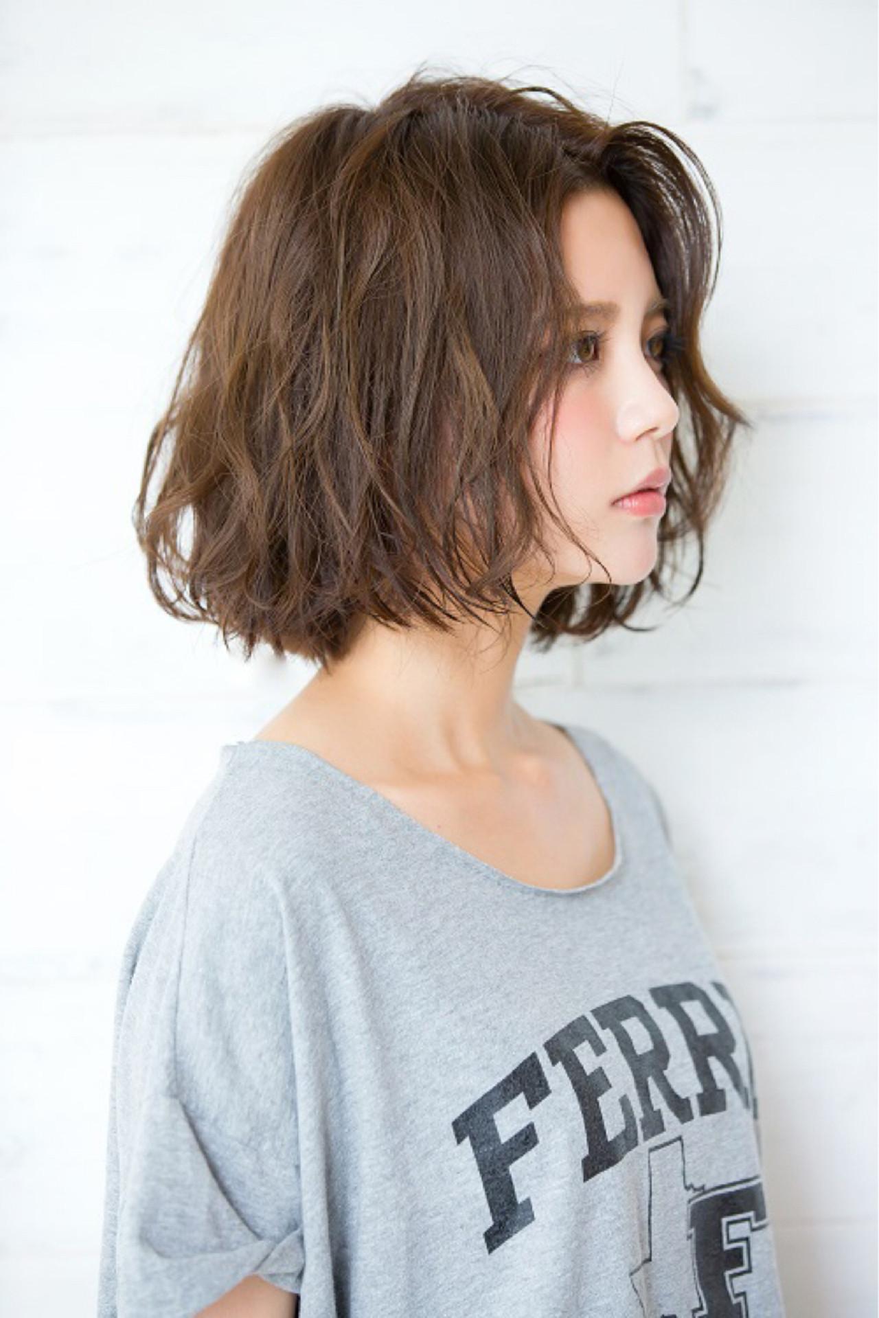 自然又鬆軟☆波浪卷髮造型 燙髮講師 真鳥康史/joemi 副店長