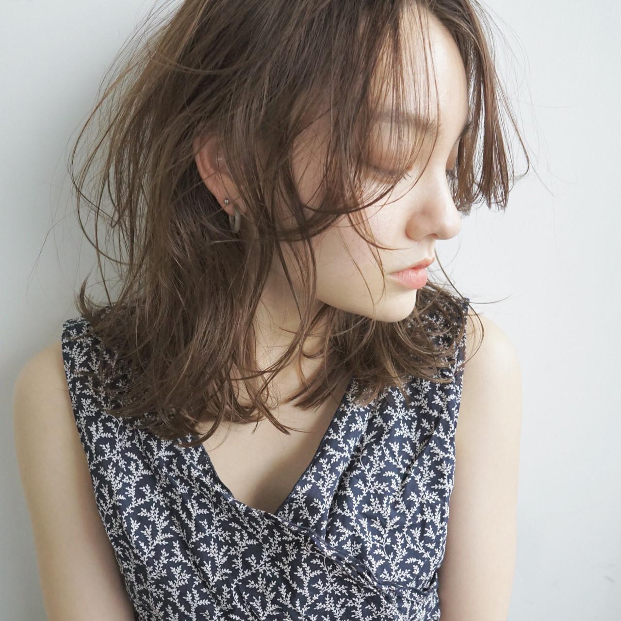 帶點性感♡休閒風外翹卷髮 UEKI/nanuk