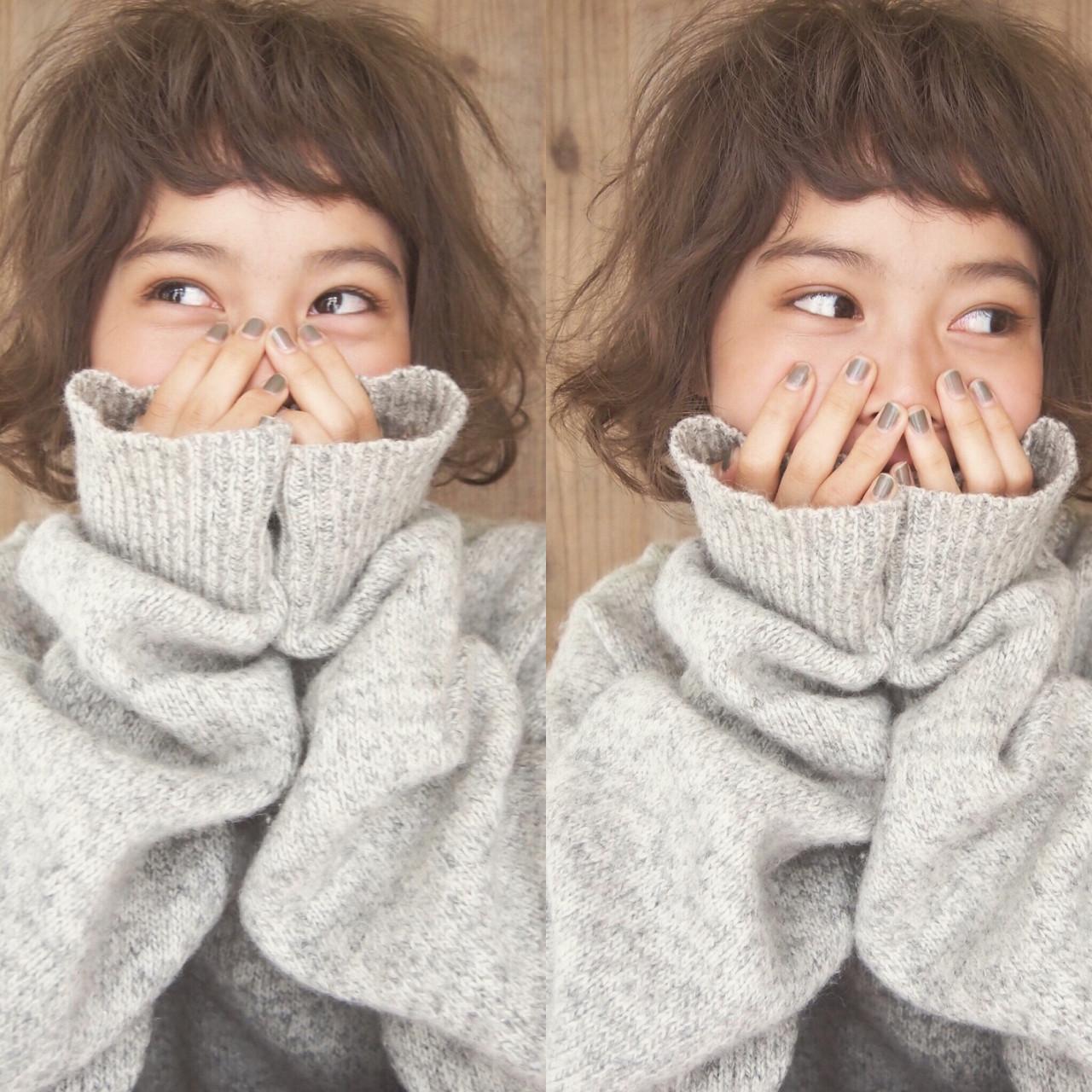 ちょっぴりやんちゃ♡なショートボブスタイル UEKI/nanuk