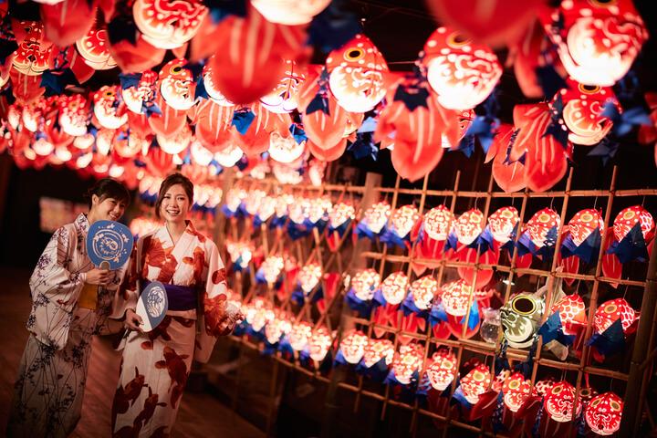 """星野集團青森屋 以""""金魚燈籠""""為主題舉辦祭典 在青森、星野集團、"""