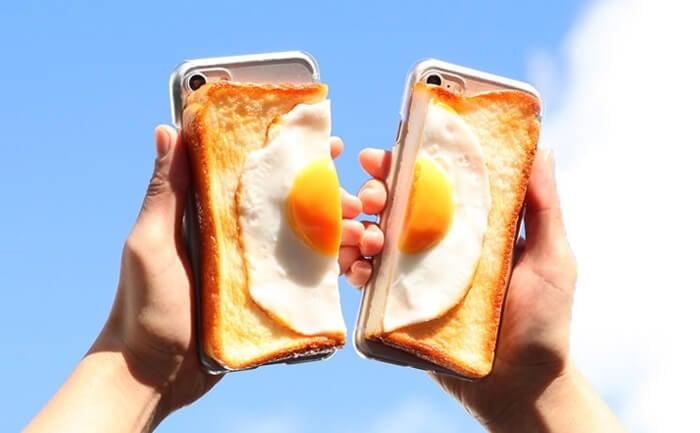 肚子餓的人不要看!Hamee推出超真實食品模型手機殼 食品模型、