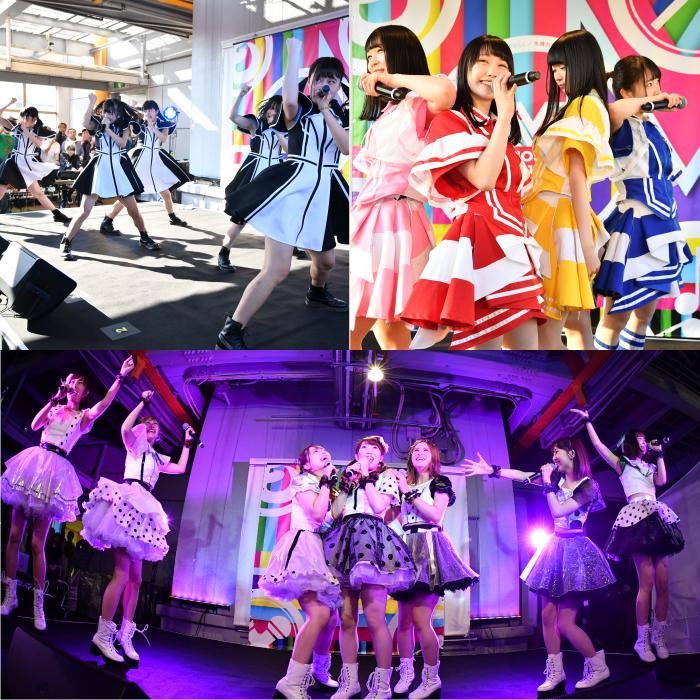 【MOSHI FES 2018/TOWER RECORDS】於屋頂SKY GARDEN舉辦的偶像舞台報導 MOSHI FES、MOSHI MOSHI NIPPON、在澀谷、歌手、