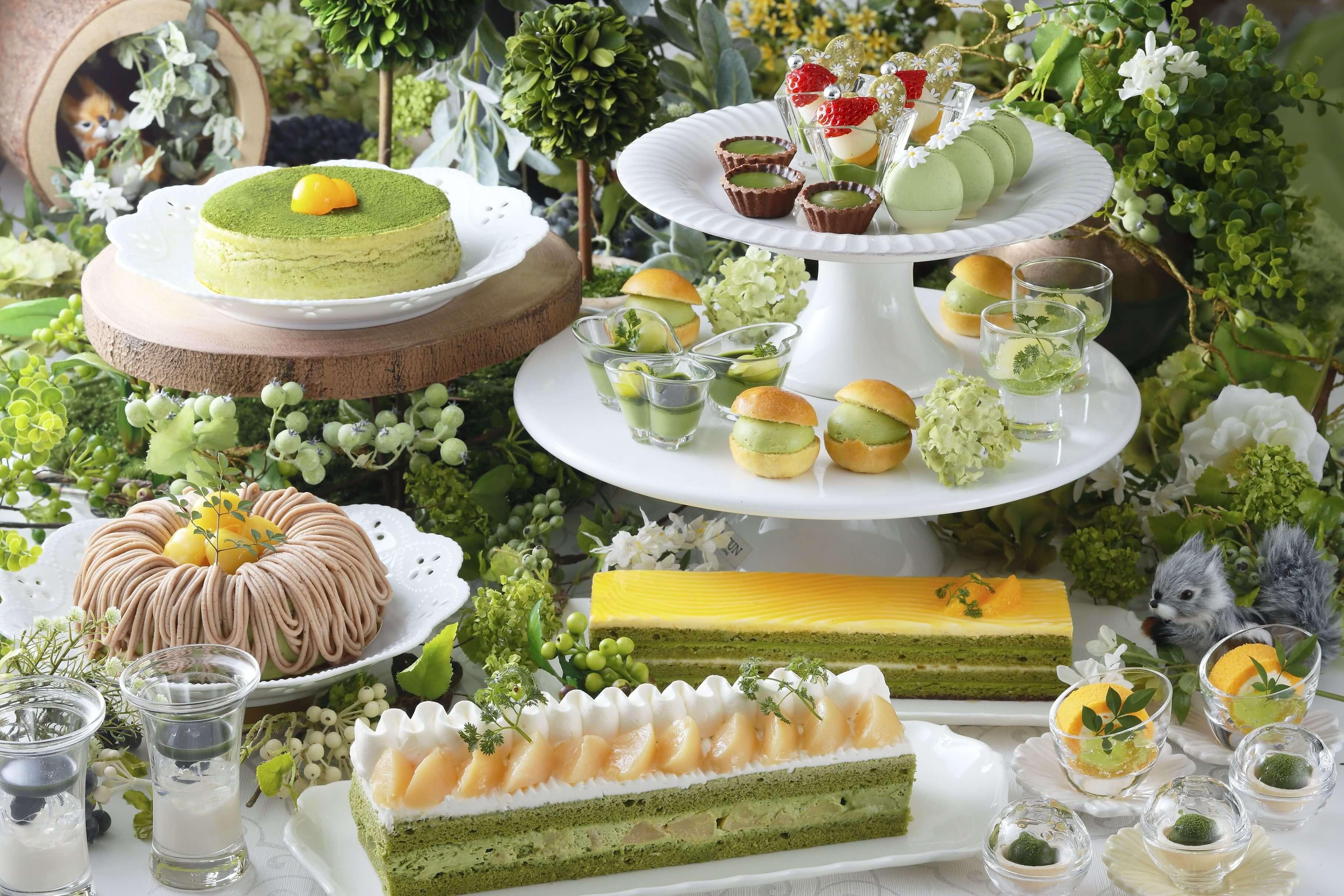使用祇園辻利的宇治抹茶製作而成的甜點!抹茶甜點Buffet將於京都舉辦 在京都、甜點、飲料、
