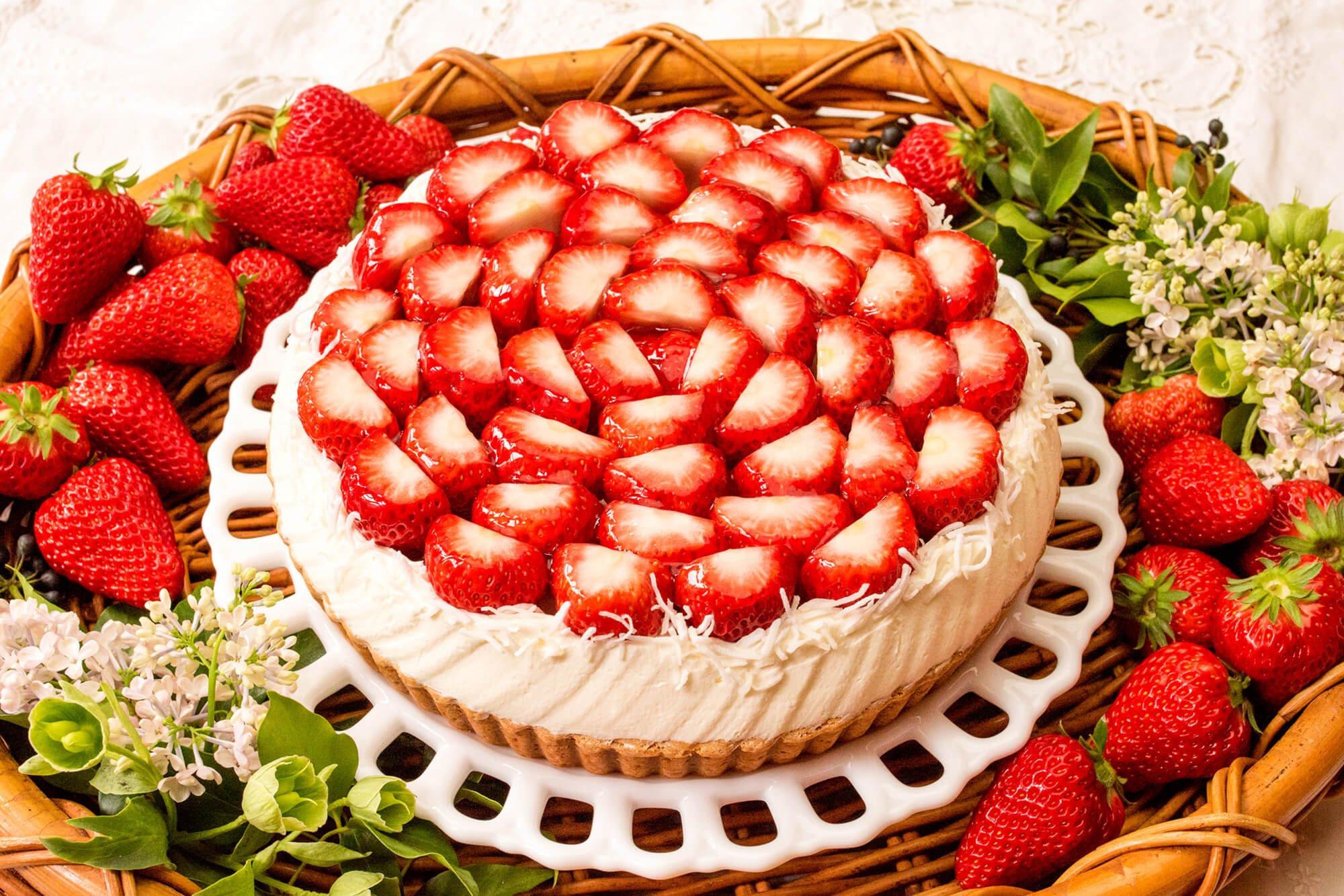 Qu'il fait bon靜岡店 推出早晨現摘寒蜜草莓塔限定販售 在静岡、甜點、莓、