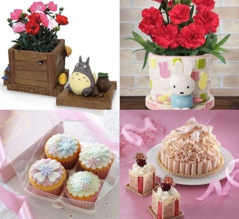 2018年的「母親節」是5月13日!花束&甜點 母親節禮物統整 母親節、甜點、