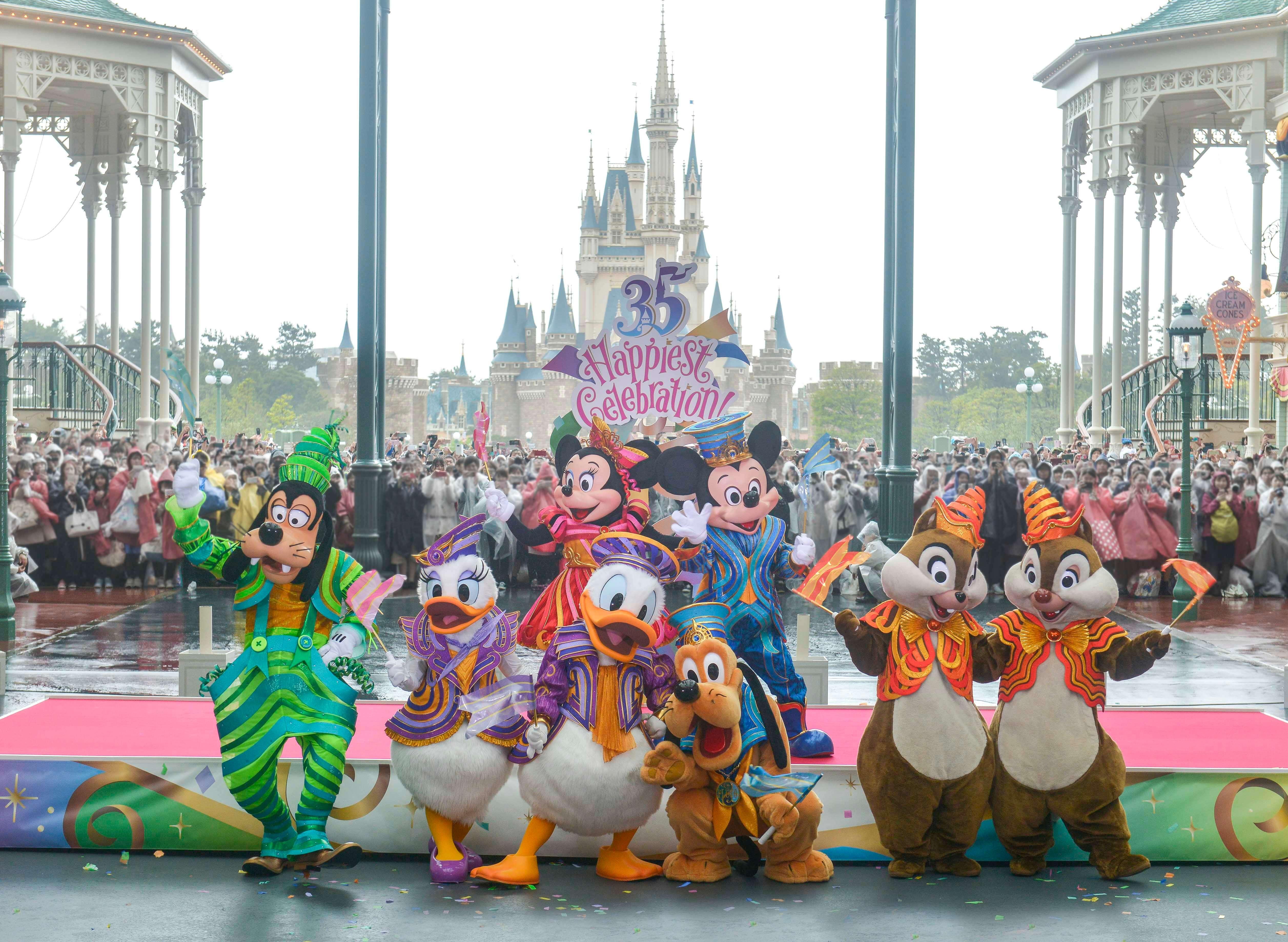 """「東京迪士尼度假區 35週年""""Happiest Celebration!""""」拉開序幕 在東京、東京迪士尼度、東京迪士尼樂園、"""