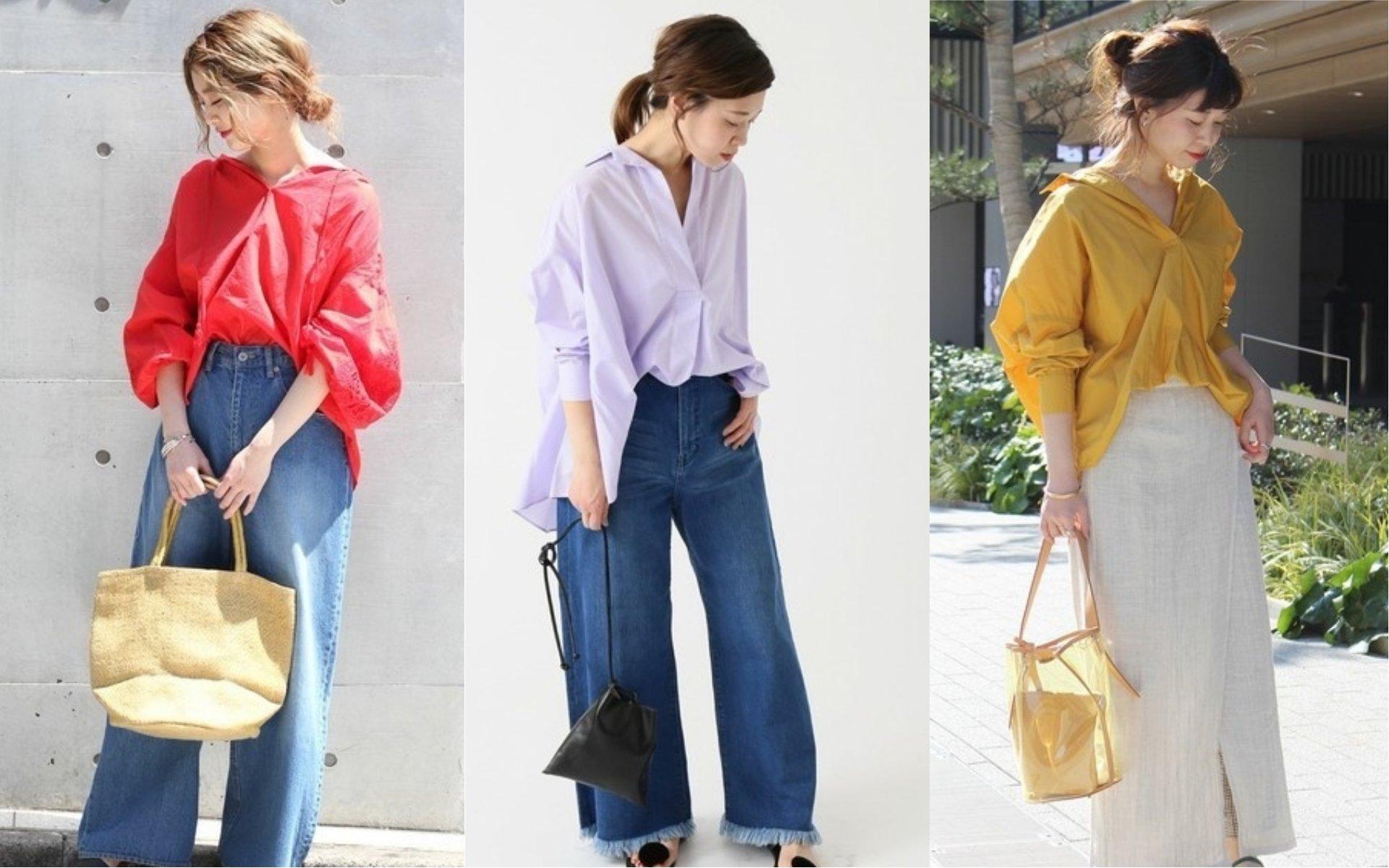 這樣穿顯瘦又時髦!向日女學習日系罩衫的穿搭秘訣
