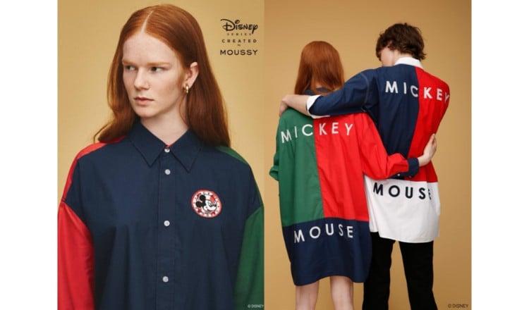 MOUSSY × Disney 時尚迪士尼合作商品登場! 東京迪士尼度、