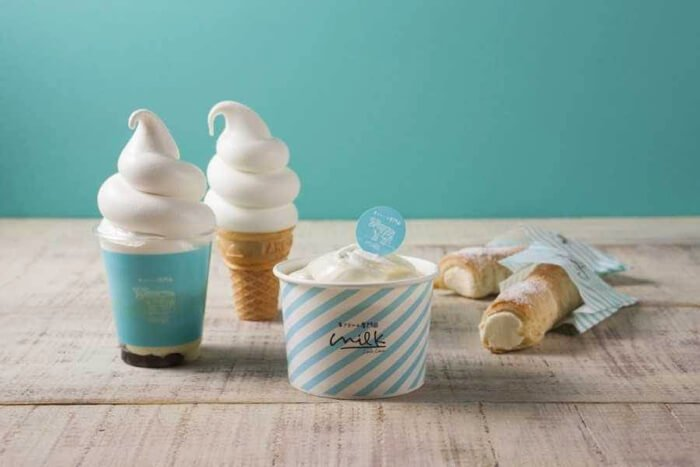 生奶油專賣店「milk」將於澀谷丸井百貨盛大開幕 咖啡廳、澀谷、甜點、