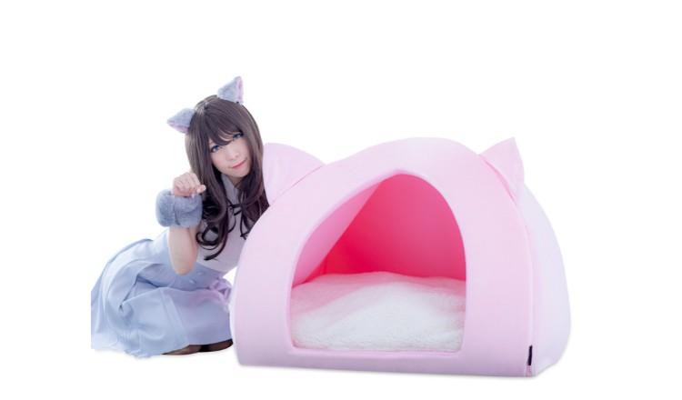 用貓咪的心情盡情放鬆「人類用的寵物窩」登場 貓咪、