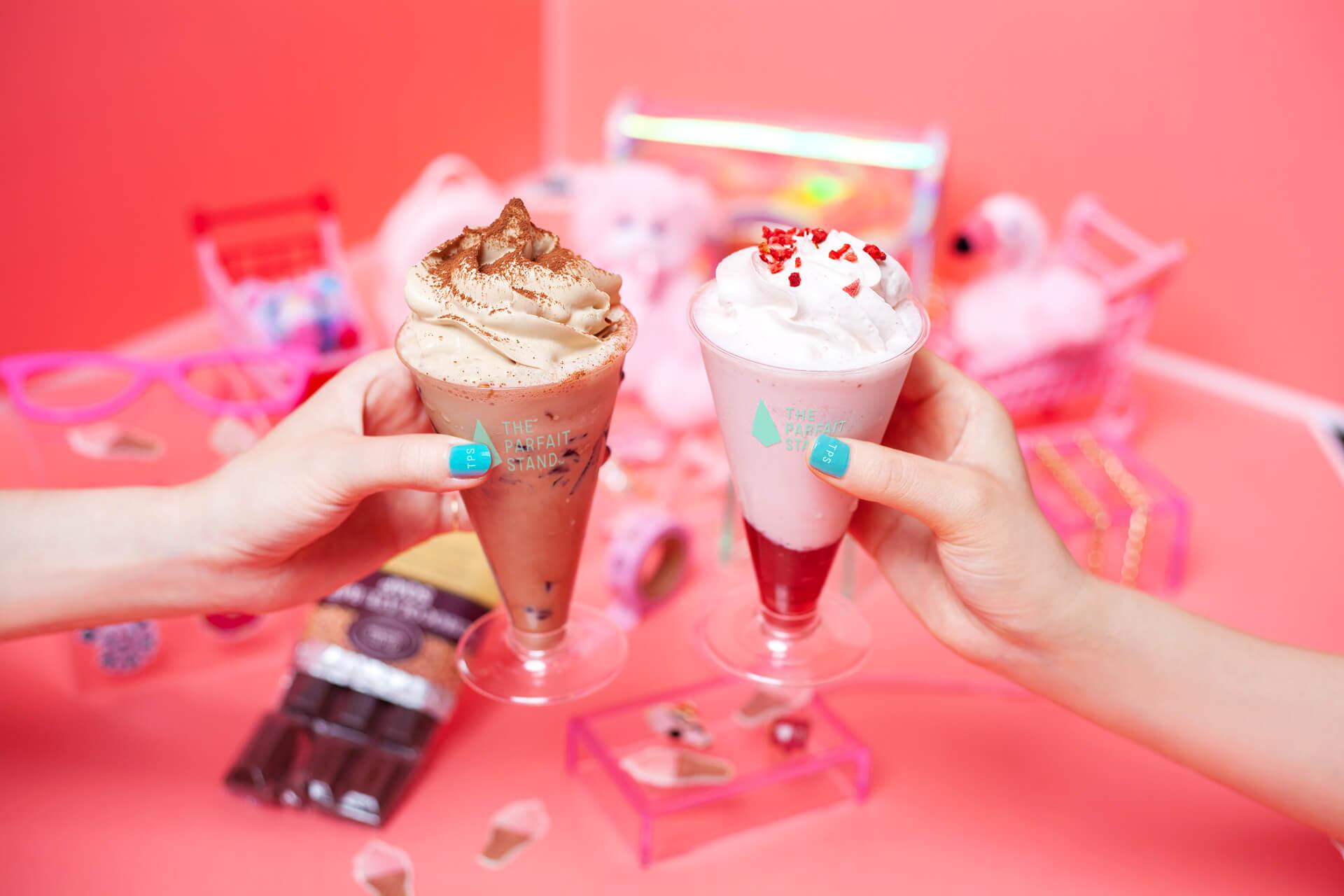 原宿聖代專賣店「THE PARFAIT STAND」推出喝的聖代登場! 在原宿、甜點、