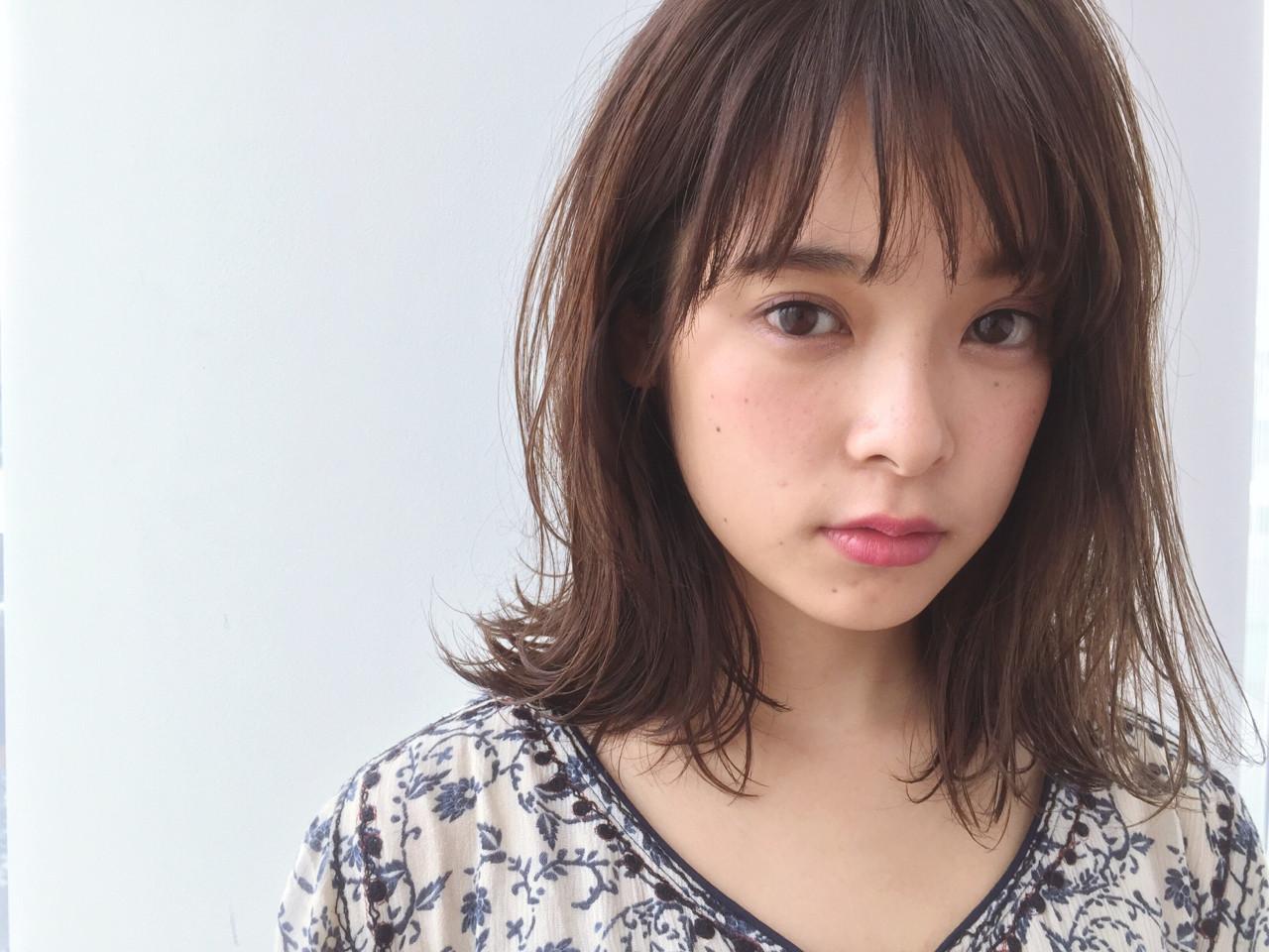 不造作大層次顯得成熟可愛的戶田惠梨香風中長直髮 福間Erisa