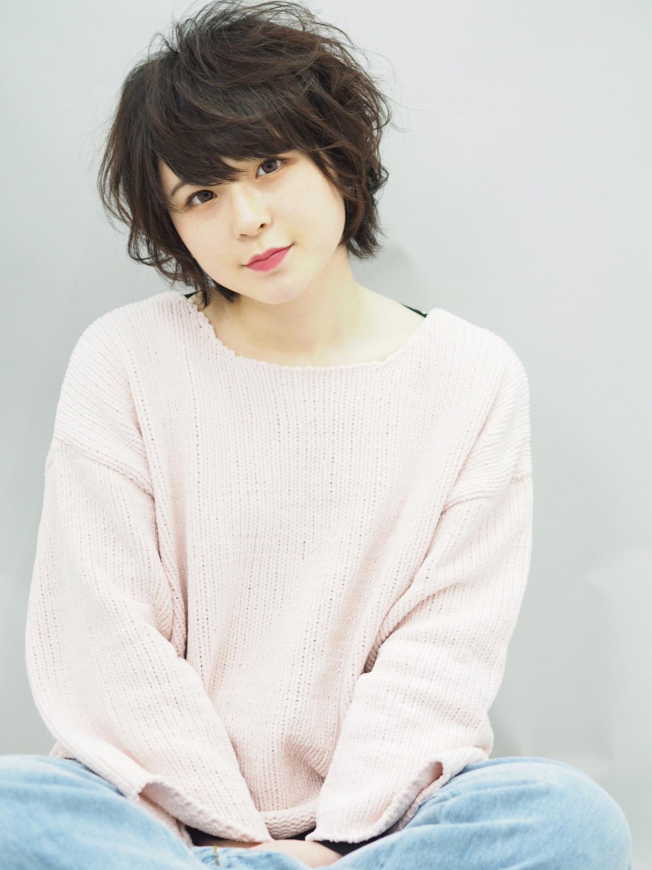 膨軟輕柔鮑伯頭×斜瀏海,營造女人味 石川明 | annex枚方店
