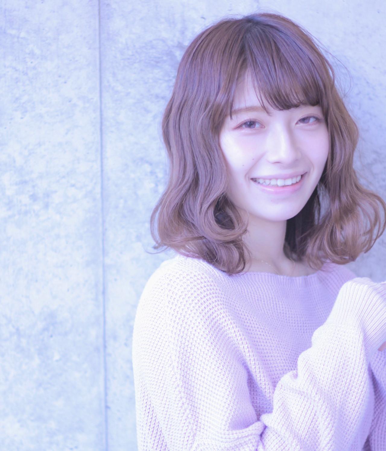 斜瀏海×蓬鬆輕軟卷度,營造出女人味♡ Wataru Maeda | cache cache