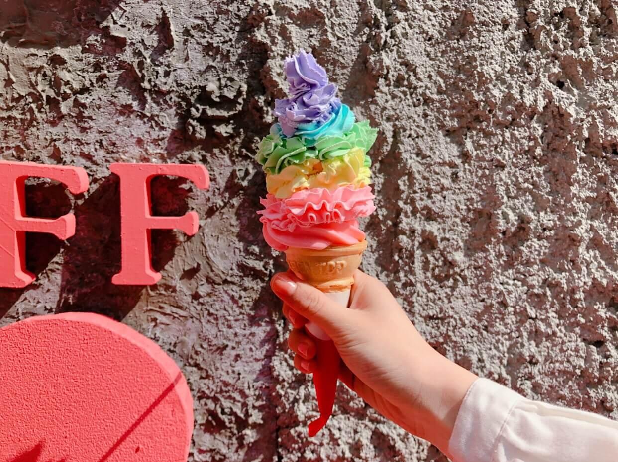 LE SHINER レインボーアイスクリーム