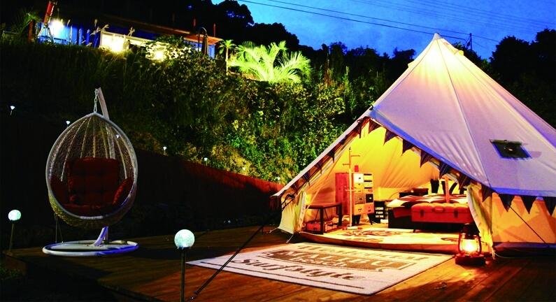 海上餐廳於長崎縣Glamping&海邊度假區「NANGORA HILLS」登場 住宿、在長崎、