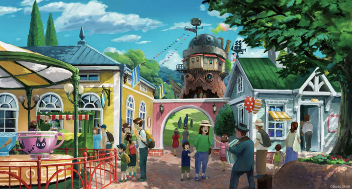 吉卜力工作室的主題樂園 將在2022年於愛知縣開幕 吉卜力、吉卜力樂園、愛知、宮崎駿