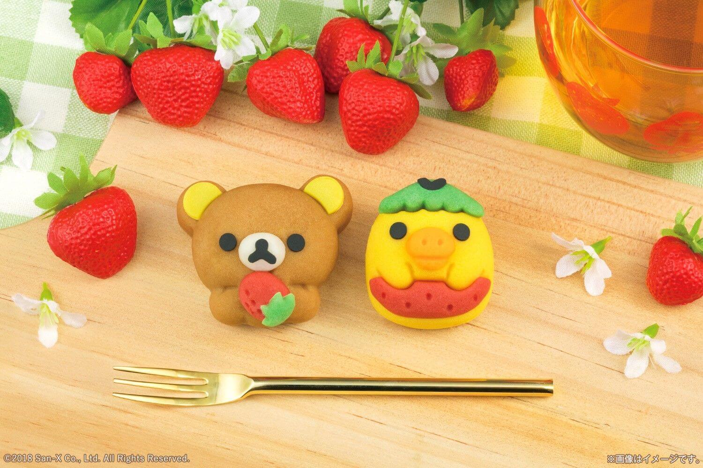 懶懶熊15週年!抱著草莓化身和菓子登場 懶懶熊、甜點、