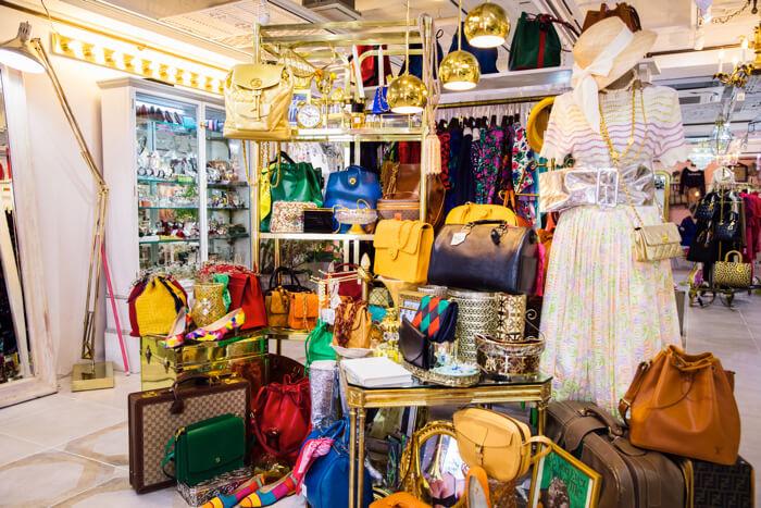 【東京古著】羅曼蒂克的Vintage Shop 表參道「VINTAGE QOO TOKYO」 在表參道、東京古著、