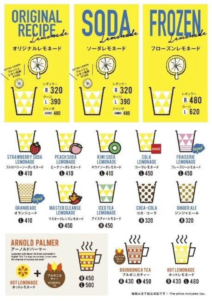 レモネード専門店「LEMONADE by Lemonica」  ソラド竹下通り