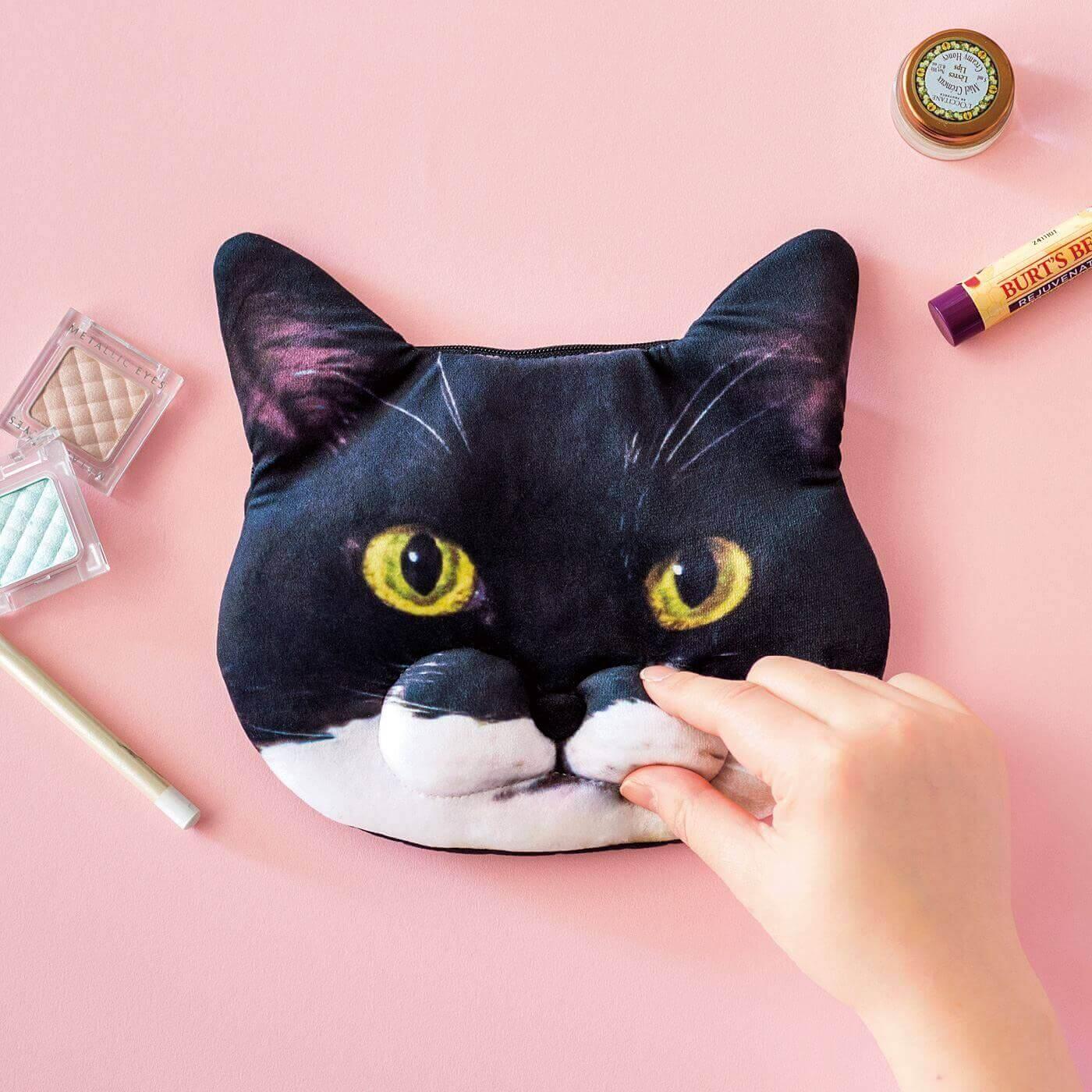 魅惑のもっちりひげ袋 ギズモさんポーチ フェリシモ猫部