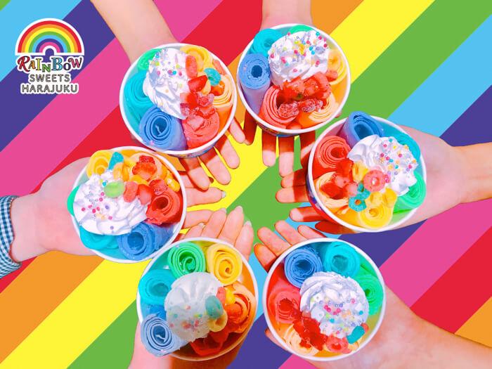 克制住你的少女心呀!世界首創「彩虹甜點專賣店」將於原宿竹下通開幕! 在原宿、甜點、