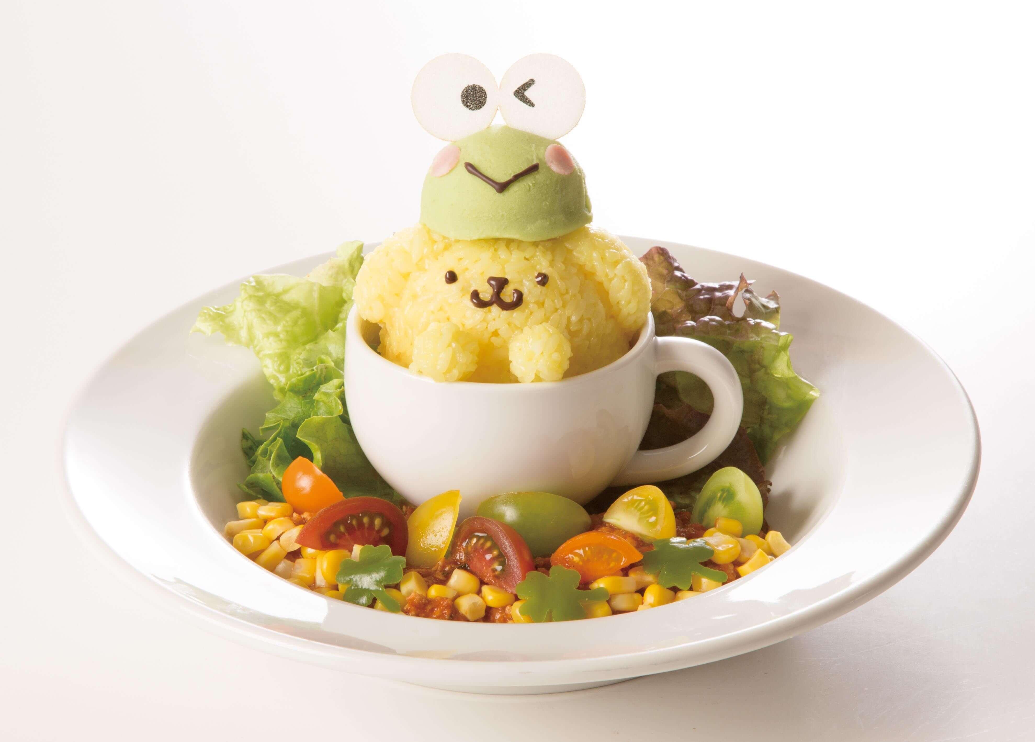 可愛消暑的布丁狗×大眼蛙合作菜單再推第2彈!4款夏季菜單發售 大眼蛙、布丁狗、