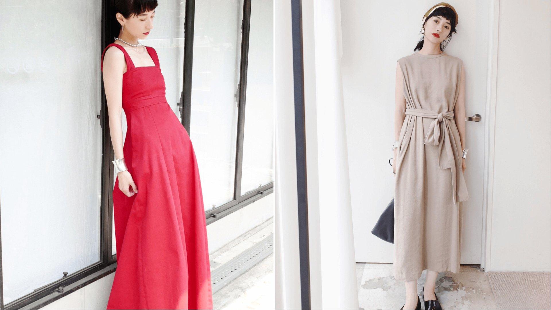 跟著松本惠奈這樣穿!善用配件讓極簡洋裝也能擁有多樣風格