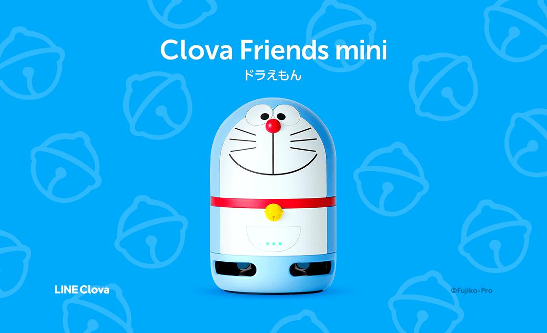 LINE的智慧喇叭推出「Clova Friends mini哆啦A夢」款新發售! 哆啦A夢、