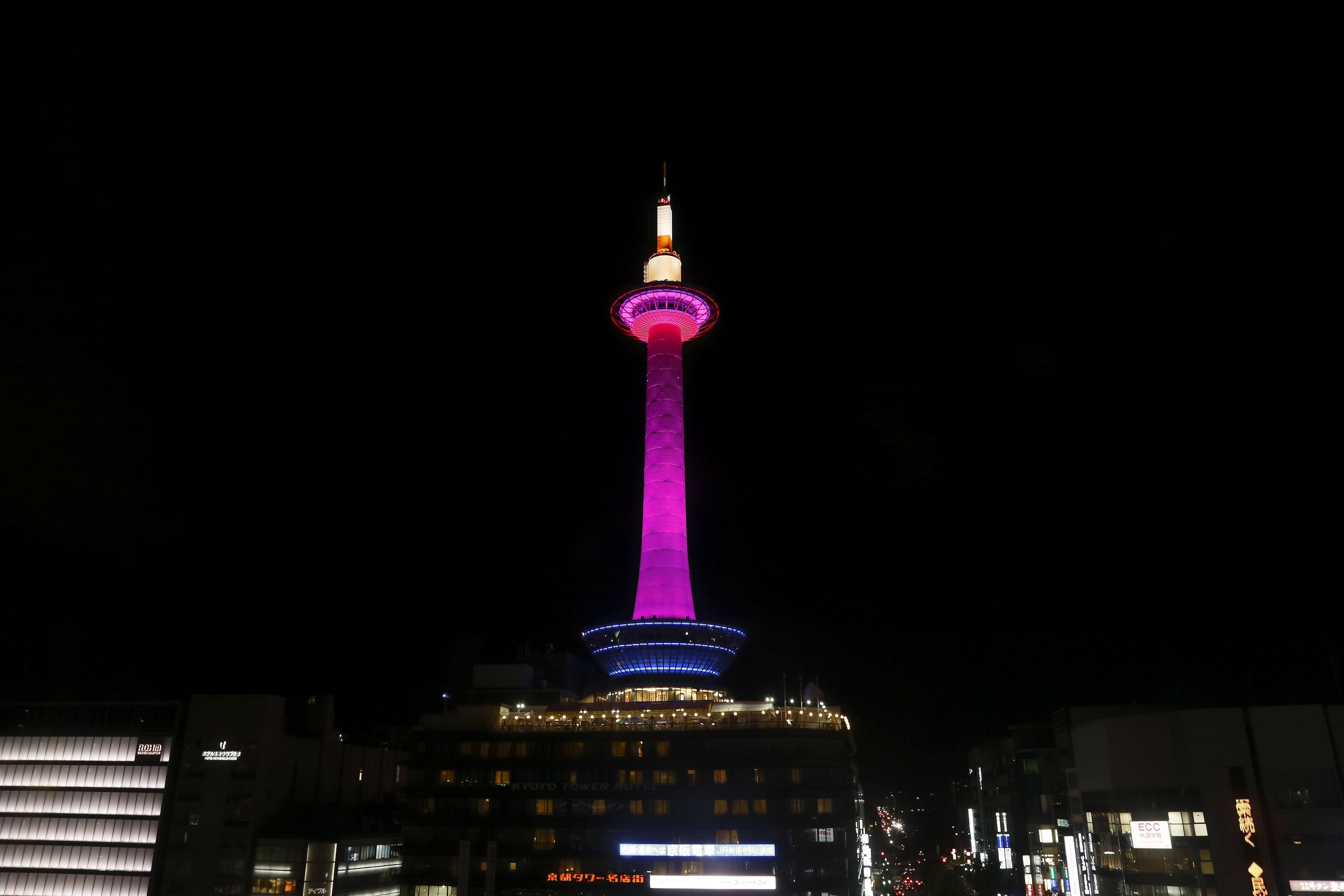京都タワーイルミネーション