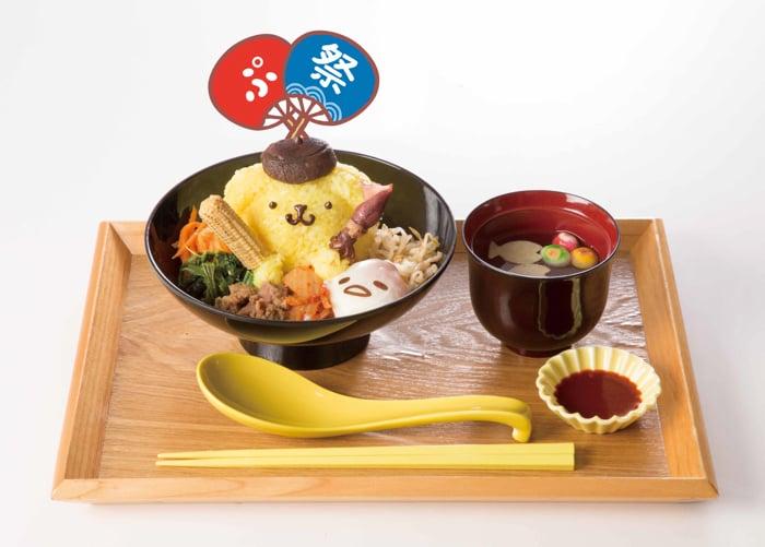 布丁狗 × 蛋黃哥!橫濱、名古屋的布丁狗咖啡廳 推出「蛋黃哥」合作夏季菜單登場 布丁狗、蛋黃哥、