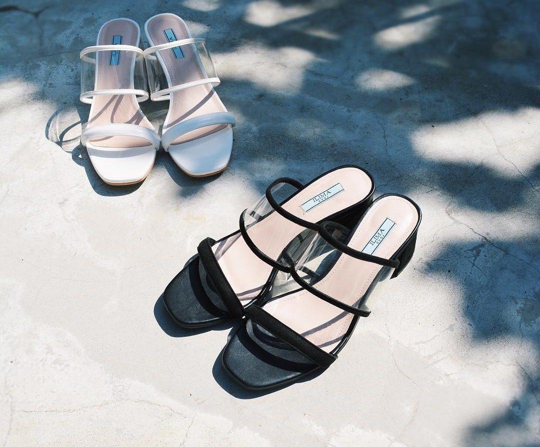 腳背不夠美怎麼穿涼鞋?快開啟 PVC 的透明感美肌模式吧