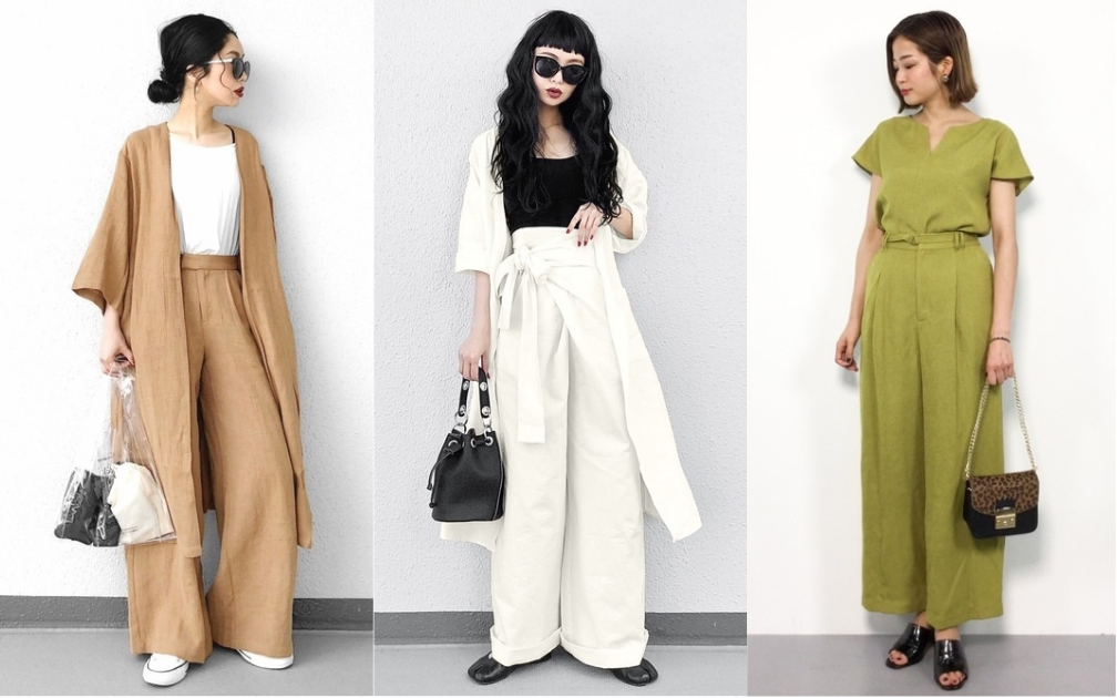 顏色一樣就對了!今夏的懶人時尚穿搭日本女生都用一套完成