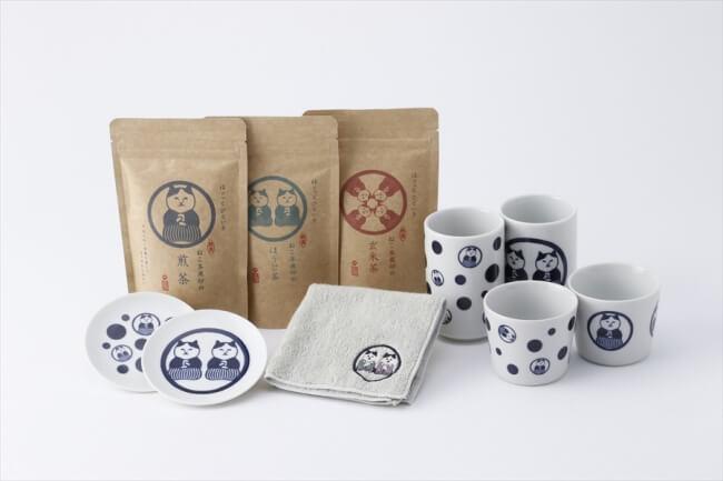 調配出靜岡高級茶的品牌「貓茶商」在Village Vanguard線上開賣! 貓、