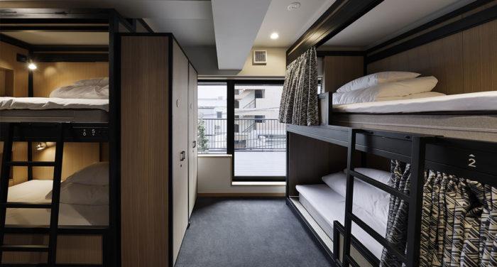 淺草WIRED HOTEL Asakusa床位
