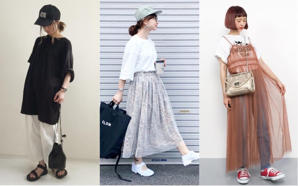 輕鬆打造零距離好感,日本女生近期大愛的寬版 Tee 穿搭
