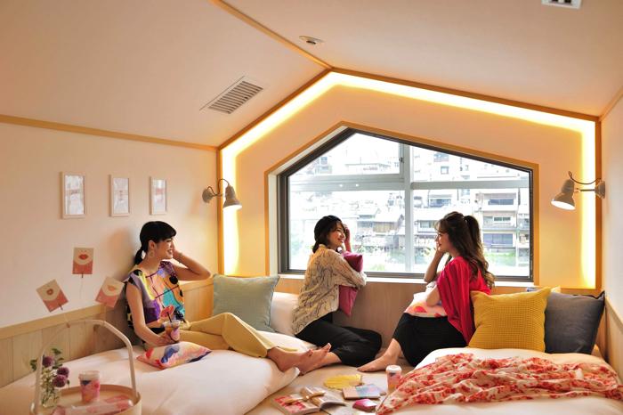 咖啡廳&女性專用旅館「CAFETEL 京都三条 for Ladies」開幕 在京都、日本旅行、日本觀光、飯店、