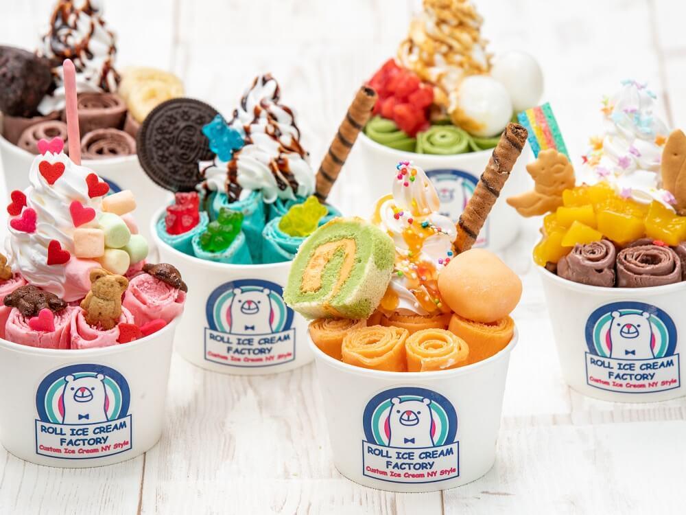 原宿的超人氣冰淇淋捲專賣店「ROLL ICE CREAM FACTORY」將於名古屋開幕! 冰淇淋、在名古屋、甜點、